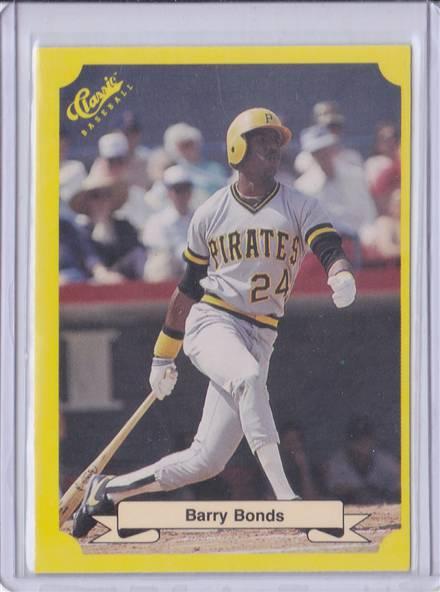 Baseball Cards 1987 Classic Baseball 113 Barry Bonds Rookie