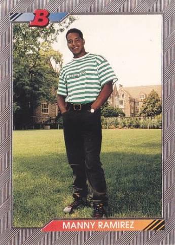 Baseball Cards 1992 Bowman Manny Ramirez 676 Cleveland Sweet