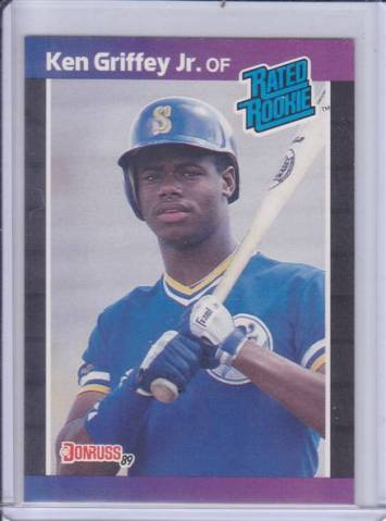 Baseball Cards My Almost Worthless Ken Griffey Jr Rookie