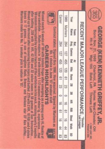 1990 Donruss #365