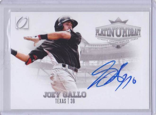 2014 Onyx Joey Gallo